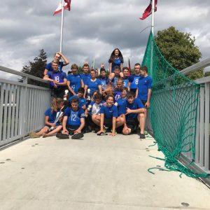 Gruppenfoto nach erfolgreicher Turnierteilnahme in Berne