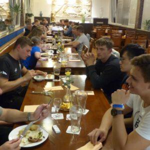 Abendessen beim Chinesen